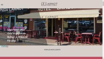 Site internet de Le Carnot