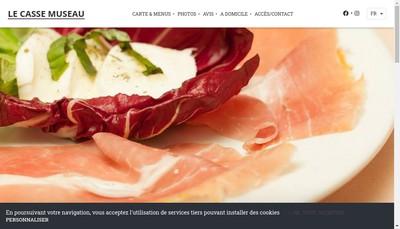 Site internet de Au Casse Museau