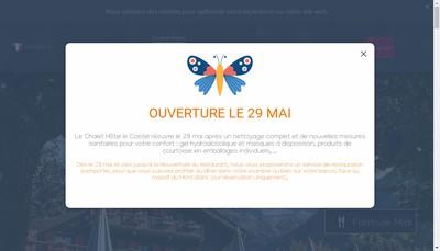 Site internet de Le Castel