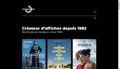 Site internet de Le Cercle Noir