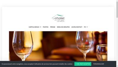Site internet de Chalet du Mini Golf