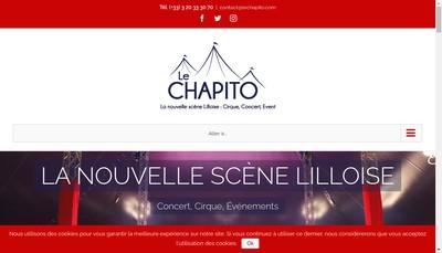 Site internet de Le Chapito