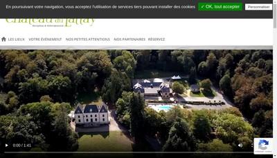 Site internet de Chateau du Lattay