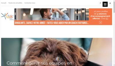 Site internet de Le Centre National du Coaching