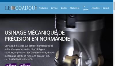 Site internet de Etablissements le Coadou