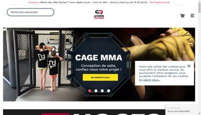 Site internet de Le Coin du Ring