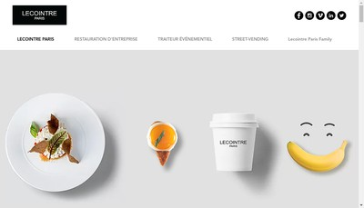 Site internet de Lecointre Paris Concept Service