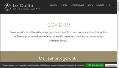 Site internet de Le Collier