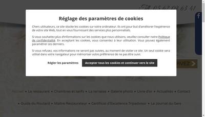Site internet de Hotel du Commerce