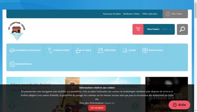 Site internet de Le Comptoir Givre
