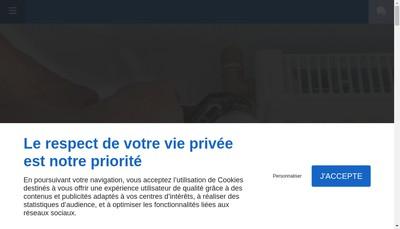 Site internet de Le Confort Sanitaire