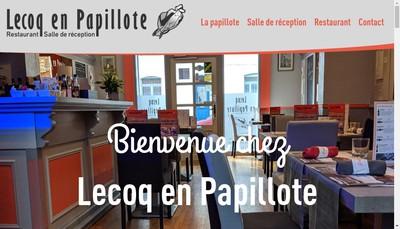 Site internet de Lecoq en Papillote