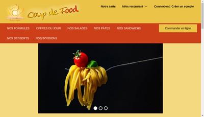 Site internet de Le Coup de Food