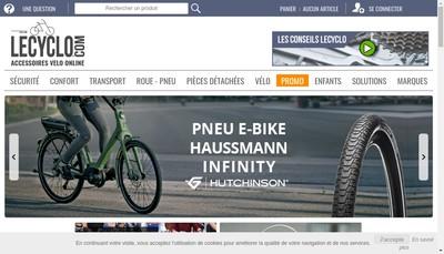 Site internet de Cyclo Service Enzo