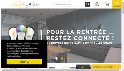 Site internet de Led-Flash
