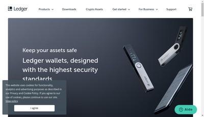 Site internet de Ledger