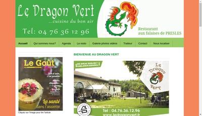 Site internet de Le Dragon Vert