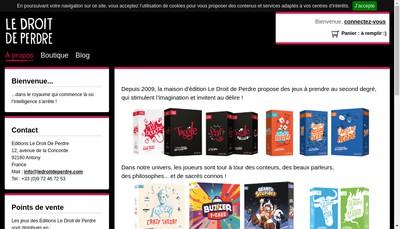 Site internet de Longalive Games