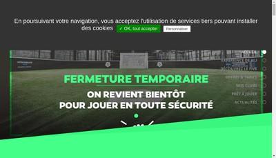 Site internet de Le Five Colomiers