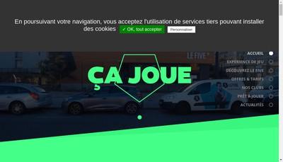 Site internet de Le Five Paris 13