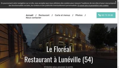 Site internet de Le Floreal