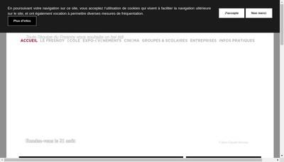 Site internet de Fresnoy Studio Nal Arts Contemporains
