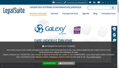 Site internet de Legal Suite SAS