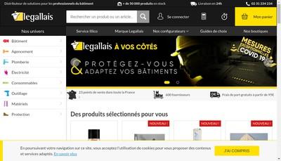 Site internet de Legallais