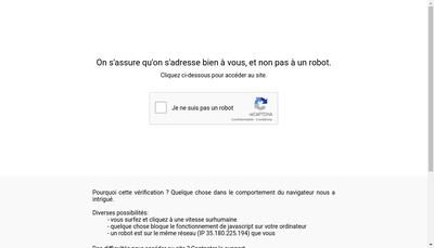 Site internet de Les Editions du Medecin Generaliste