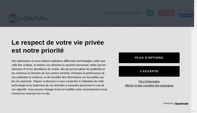 Site internet de Le Globe-Trotteur