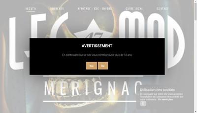Site internet de Leg Mod 47 Merignac