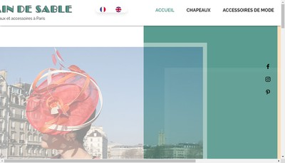 Site internet de Le Grain de Sable