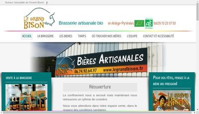 Site internet de Le Grand Bison