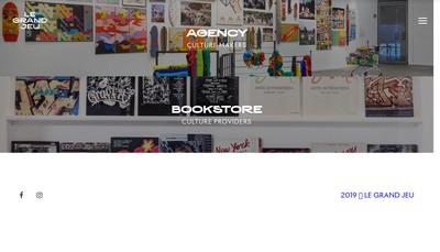 Site internet de Le Grand Jeu