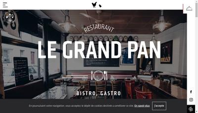 Site internet de Le Grand Pan