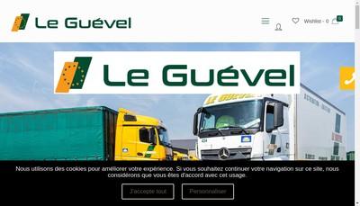 Site internet de Etablissements le Guevel