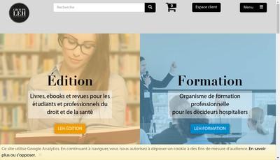 Site internet de Leh Formation