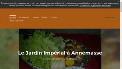 Site internet de Le Jardin Imperial