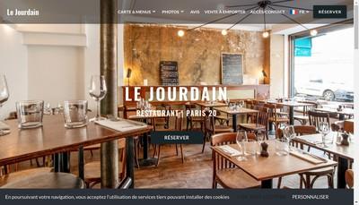 Site internet de Le Jourdain