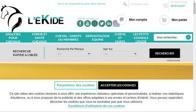 Site internet de L'Ekide