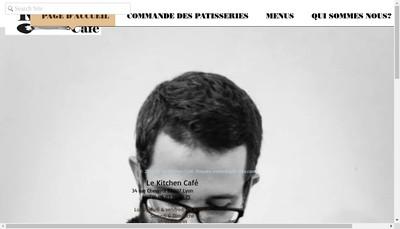 Site internet de Le Kitchen Cafe