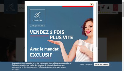 Site internet de Groupe Lelievre