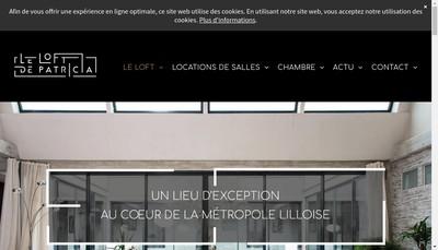 Site internet de Le Loft de Patricia