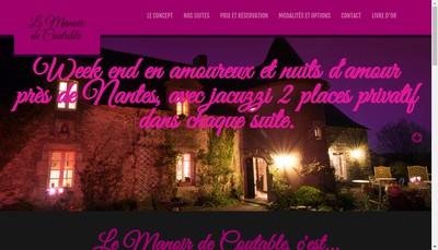 Site internet de Le Manoir de Coutable