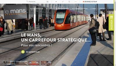Site internet de Seml le Mans Evenements