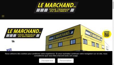 Site internet de Le Marchand SAS