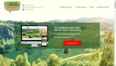 Site internet de SAS Lemarchand