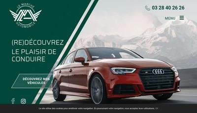 Site internet de Le Marche Automobile