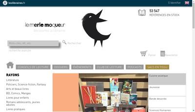 Site internet de Le Merle Moqueur