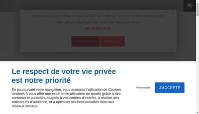 Site internet de Entreprise Lemoine Pierrick